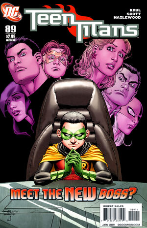 Cover for Teen Titans #89