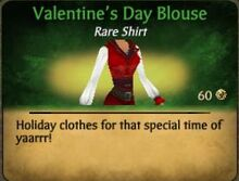 Valentine's Day Blouse
