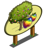 Rainbow Apple Tree Mastery Sign-icon