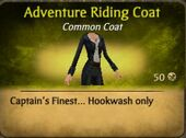 Adventure Riding Coat