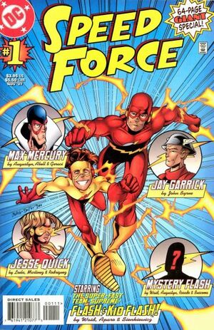 Cover for Speed Force #1