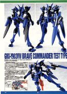 HG00 Brave Commander Test Type