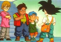 Goku Jr. vs bullies