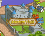Adventurer's Guild map