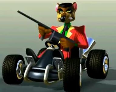 Algunas imagenes de personajes de Crash.
