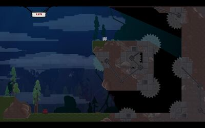 SuperMeatBoy 1-2 Dark
