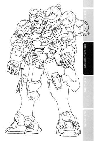 Mercurius, 1/144 plastique Bandai de Wing Gundam 323px-OZ-13MSX2_Mercrius_Front_View_Lineart