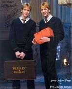 Fred i george weasley
