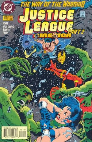 Cover for Justice League America #101