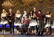 &quot;Valerie&quot; sung by Santana with New Directions