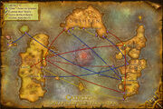 World-of-warcraft-cataclysm-boat-zeppelin-route-map