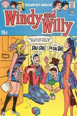 Cover for Windy and Willy #3
