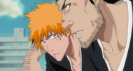 Ichigo and Isshin