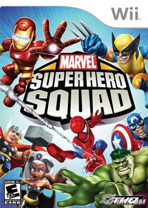 Marvel super hero squad video game