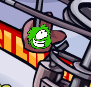 Green Puffle Spotted