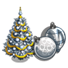 Holiday Tree (Silver)