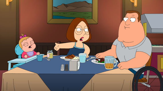 Family Guy Season 9 Episode 12 The Hand That Rocks the Wheelchair