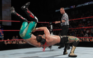 Chavo flipping Yoshi Tatsu