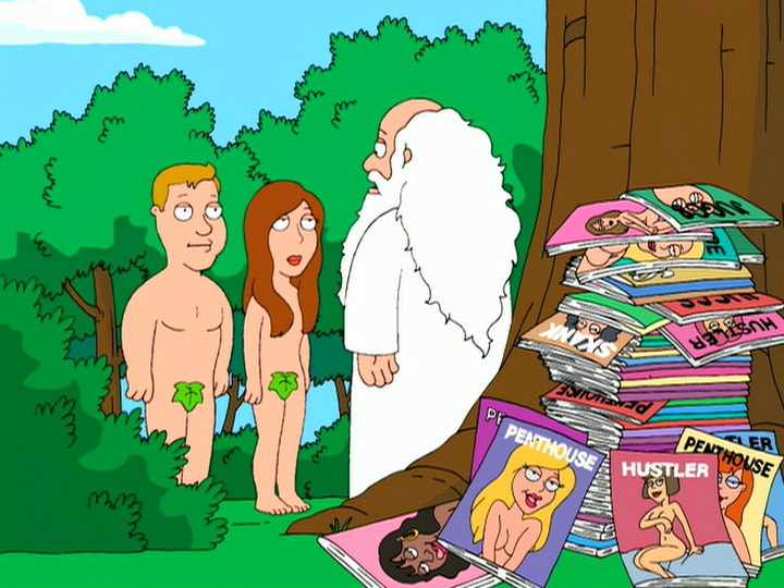 Adameve Adam and Eve   Family Guy Wiki
