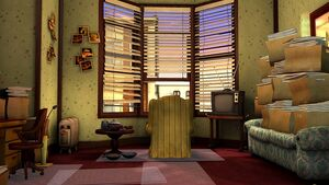 Edna&#39;s apartment