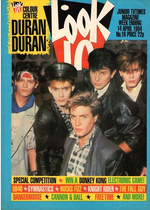 Look in magazine duran duran