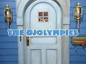 The Ojolympics Title Card