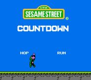 Sesame Street Countdown Title Screen