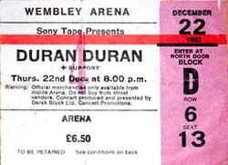Ticket-wembley-arena-22-12-84