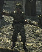 German sniper WaW