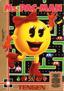 Ms. Pac-Man Cover