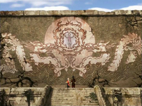 Origin of firebending mural