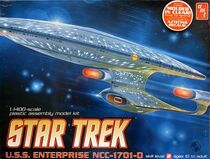 AMT Model kit AMT656 USS Enterprise-D 2010 variant