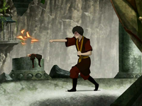 Zuko&#39;s weak firebending