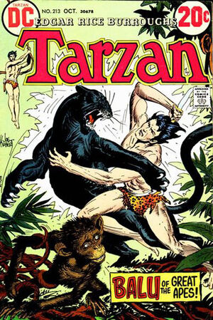 Cover for Tarzan #213