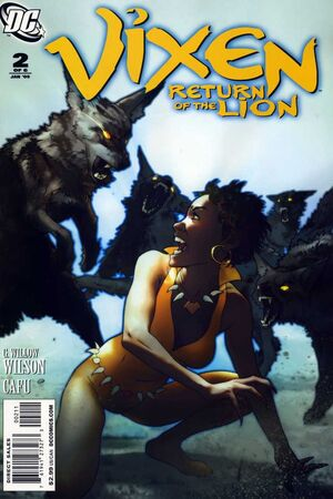 Cover for Vixen: Return of the Lion #2