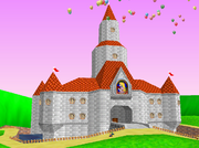 PrincessPeachCastle64