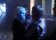 Shran and Sopek on Coridan