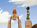 Toph teaches Aang.png