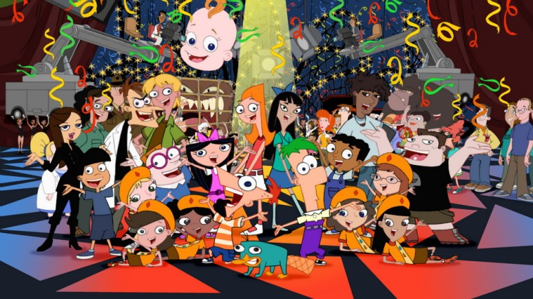 Phineas And Ferb Cast Pictures. The Phineas And Ferb Cast