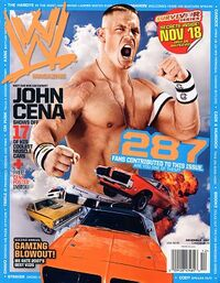 WWE Magazine Dec 2007