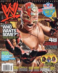 WWE Magazine Jul 2008