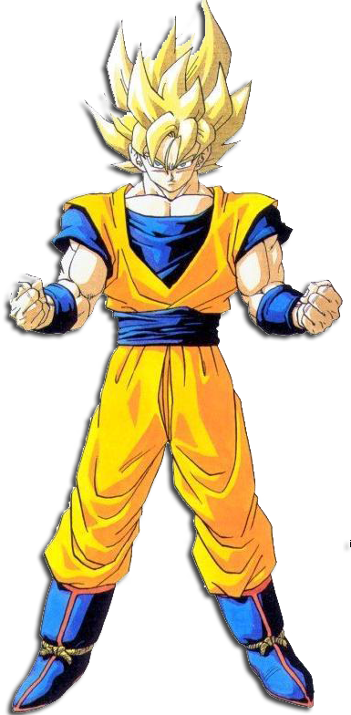 dragon ball z goku super saiyan 1000