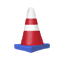 Traffic Cone Sticker (Terra)2