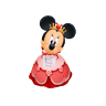 Minnie Sticker (Aqua)