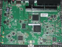 Cisco linksys e4200 board2