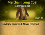 Merchant Long Coat
