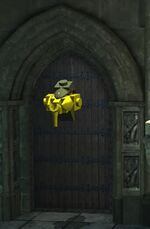 Ravenclaw door knocker