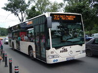 Bucharest Citaro bus 4114