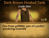 Dark Brown Hooked Tank