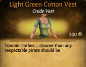 Light Green Cotton Vest